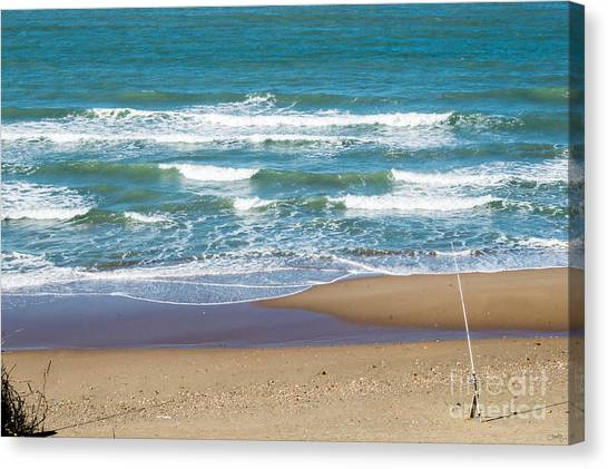 The Fishing Pole Canvas Print