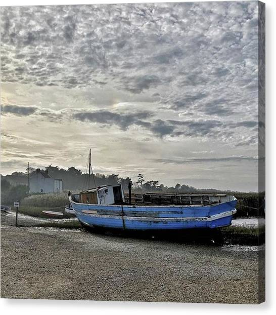 Canvas Print - The Fixer-upper, Brancaster Staithe by John Edwards