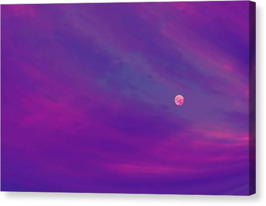The Flight To Heaven Canvas Print by Geoff Simmonds