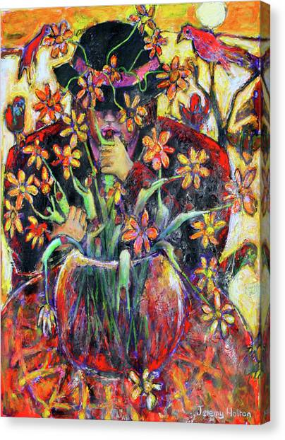 The Flower Arranger Canvas Print