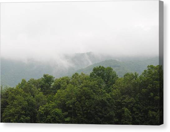The Fog Canvas Print by Christopher Rohleder