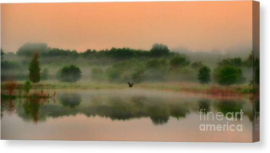 The Fog Of Summer Canvas Print