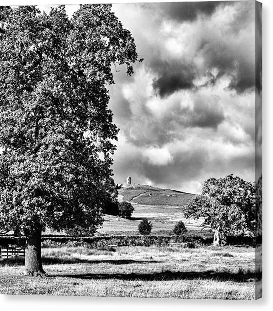 Amazing Canvas Print - Old John Bradgate Park by John Edwards