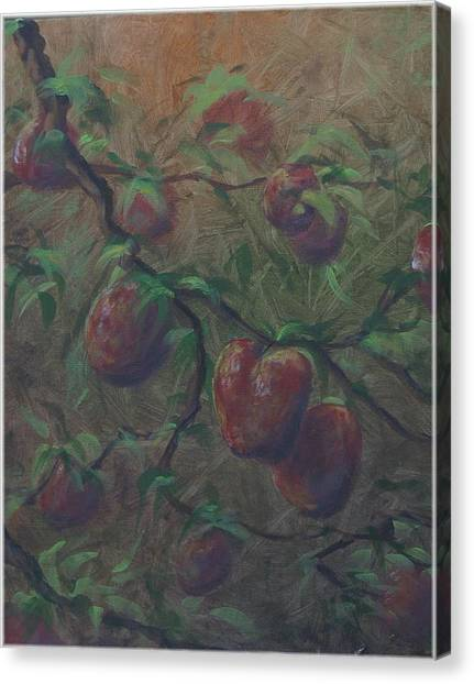 The Forbidden Fruit Canvas Print by Kenneth McGarity