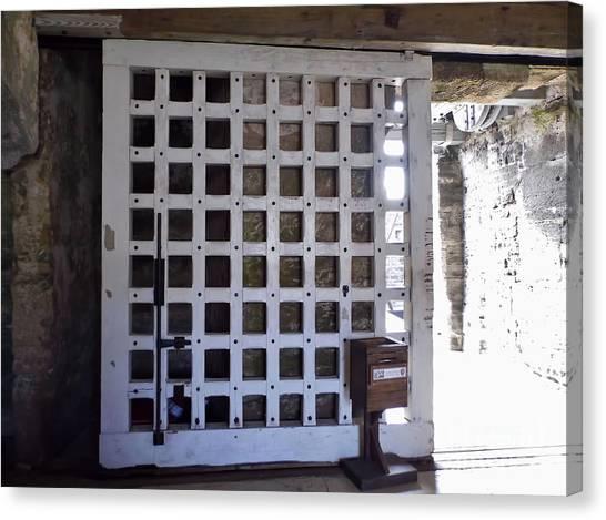 The Fort Door Canvas Print