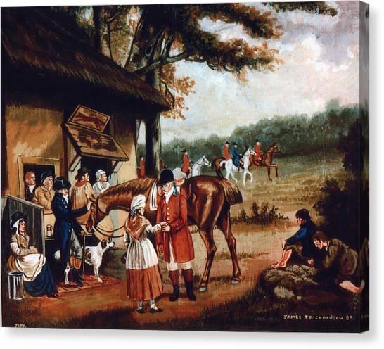 The Fox Inn Canvas Print by James Richardson