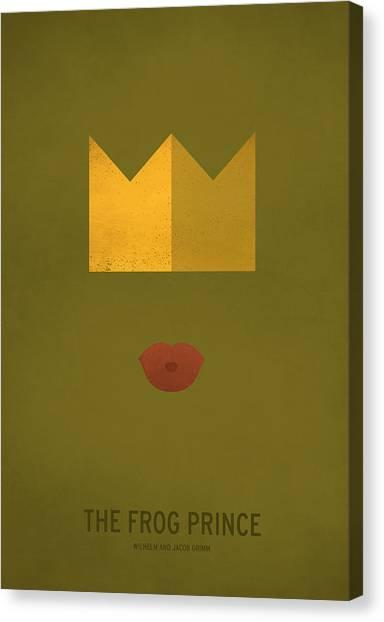 Prince Canvas Print - The Frog Prince by Christian Jackson