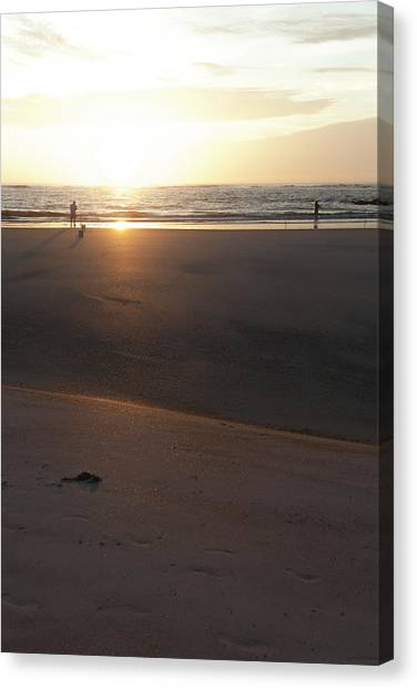 Canvas Print featuring the photograph The Full Sun by Eric Christopher Jackson