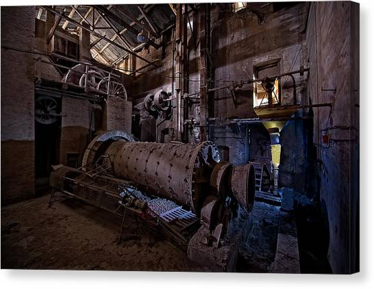 The Furnace And The Rocket 2  La Fornace E Il Razzo 2 Canvas Print