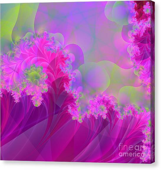 Fibonacci Canvas Print - The Futility Of Reason by Mindy Sommers