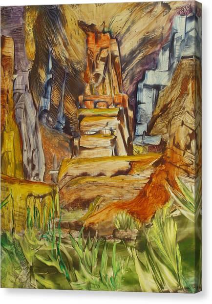 The Gate Canvas Print by Ibrahim Rahma