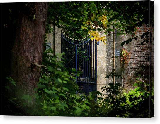 Canvas Print featuring the photograph The Gate by Jeremy Lavender Photography