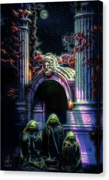 The Gate Keepers Canvas Print
