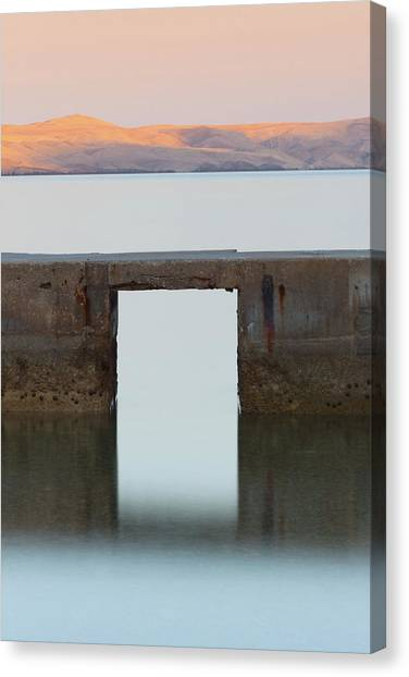 Canvas Print featuring the photograph The Gate Of Freedom by Davor Zerjav
