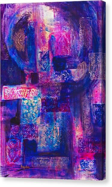 Canvas Print - The Gatekeeper by Cindy Johnston