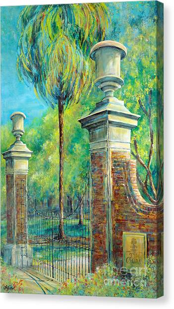 Sec Canvas Print - The Gates Of The Horseshoe I by Lindsey Fisher