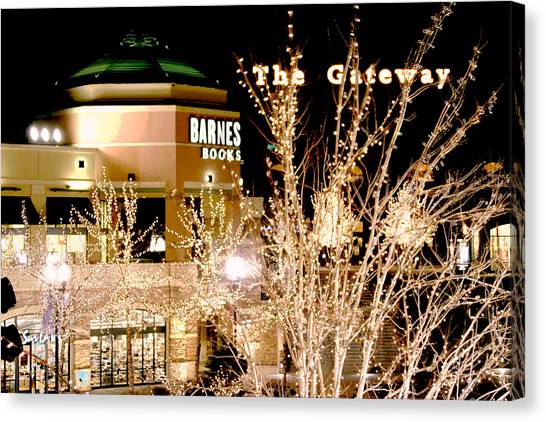 The Gateway Mall Canvas Print
