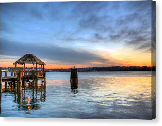 The Gazebo  Canvas Print by JC Findley