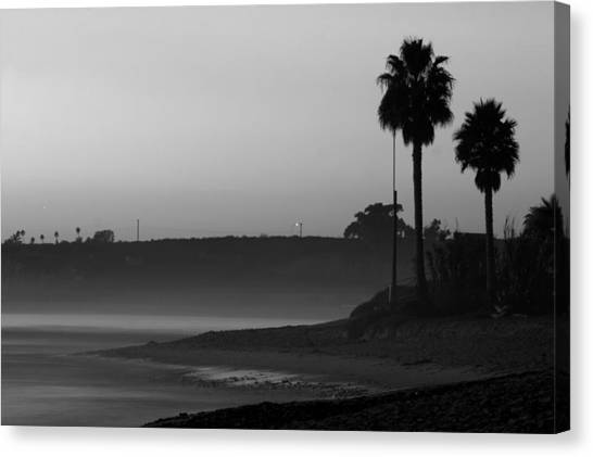 The Ghost Tide Of San Onofre  Canvas Print by Brad Scott