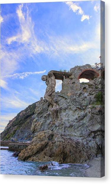 The Giant Of Monterosso Canvas Print