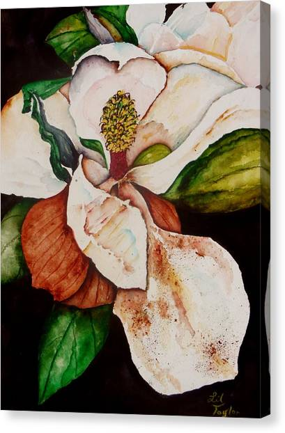 Iced Tea Canvas Print - The Gift II by Lil Taylor