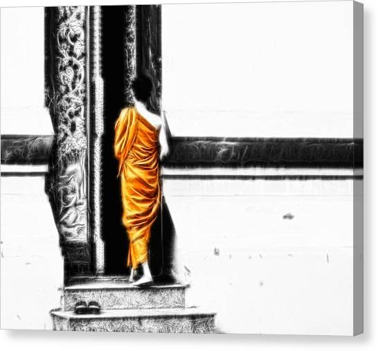 The Gilded Monk Canvas Print