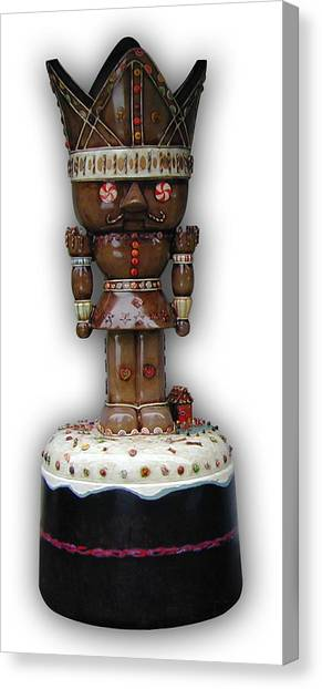 The Gingerbread King Canvas Print by Paul Illian