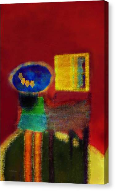 The Girl In The Mirror 2 Canvas Print
