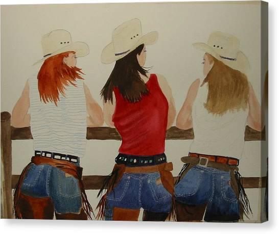 The Girls Canvas Print