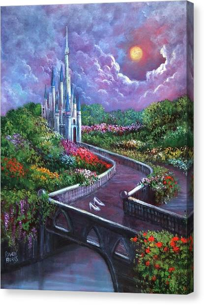 The Glass Slippers Canvas Print