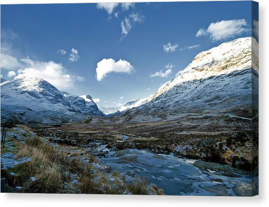 The Glen Of Weeping Canvas Print
