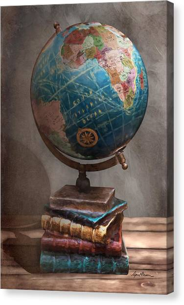 The Globe Canvas Print