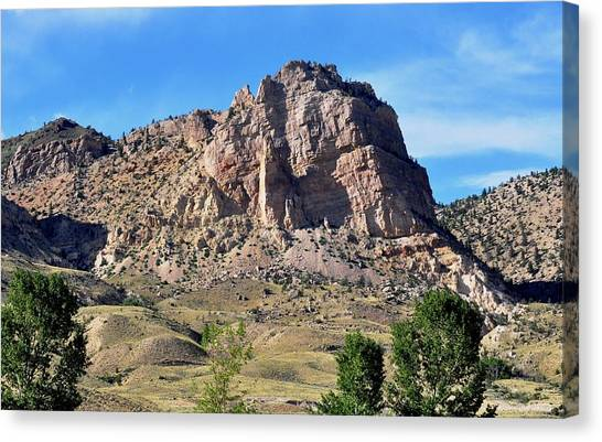 The Glory Of Wyoming Canvas Print