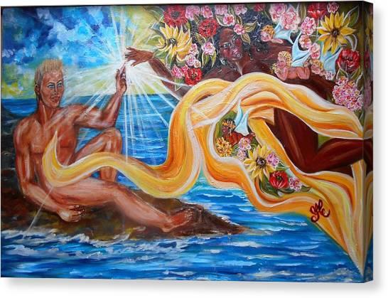 The Goddess Canvas Print