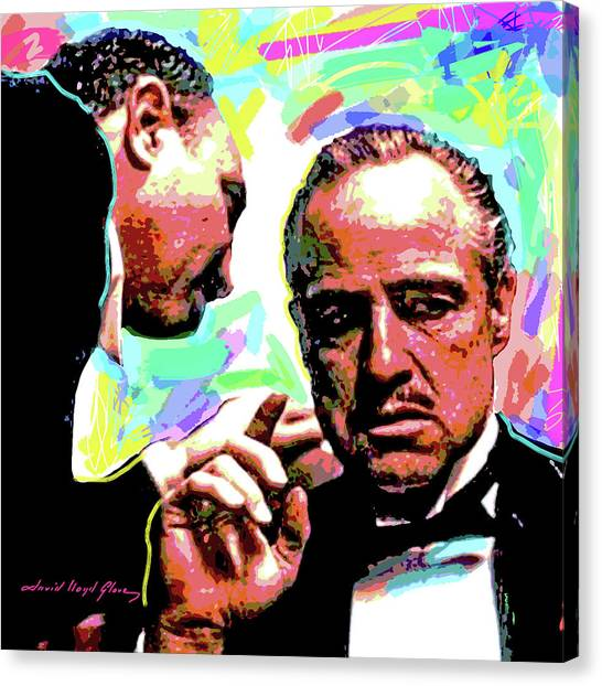 The Godfather - Marlon Brando Canvas Print