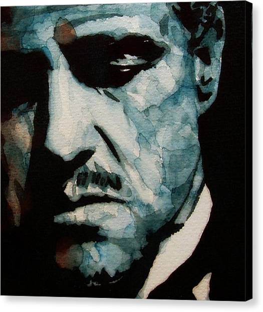 Scarface Canvas Print - The Godfather - by Paul Lovering