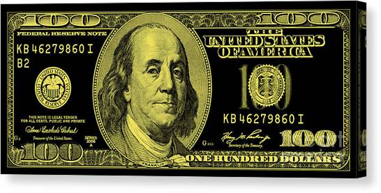 Currency Canvas Print - The Gold Standard by Jon Neidert