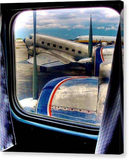 The Golden Age Of Flight -- Color Version Canvas Print