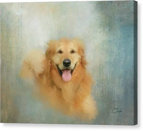 The Golden Canvas Print