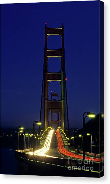 The Golden Gate Bridge Twilight Canvas Print