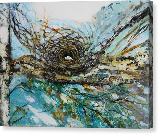 The Golden Nest Canvas Print