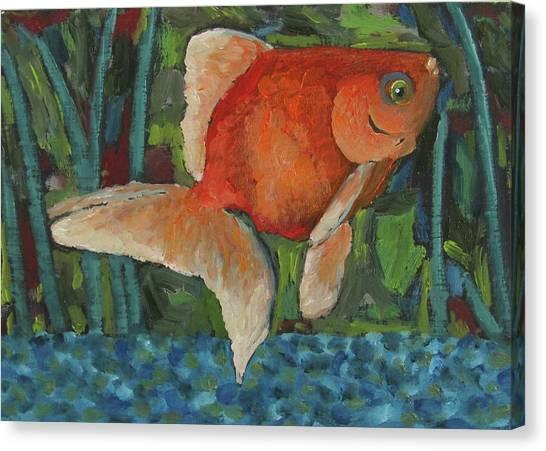 The Goldfish Bowl Canvas Print