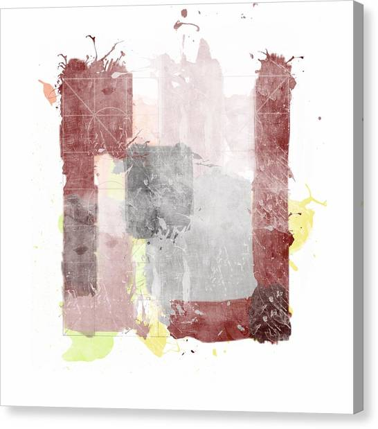 Tetris Canvas Print - The Good The Bad And The Idea by Francois Domain