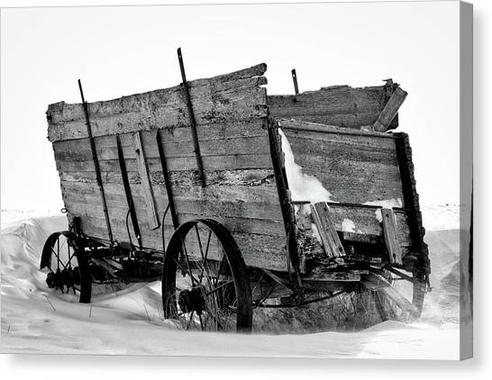 The Grain Wagon Canvas Print