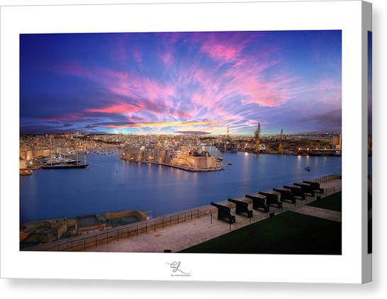 The Gran Harbour Canvas Print