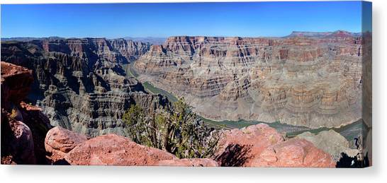 The Grand Canyon Panorama Canvas Print