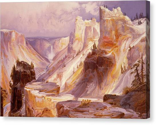 Mountain West Canvas Print - The Grand Canyon, Yellowstone by Thomas Moran
