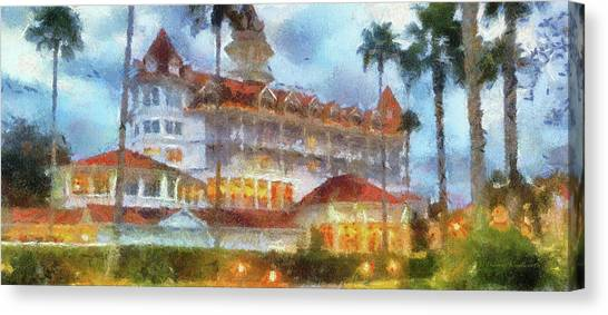 Orlando Magic Canvas Print - The Grand Floridian Resort Wdw 01 Photo Art Mp by Thomas Woolworth