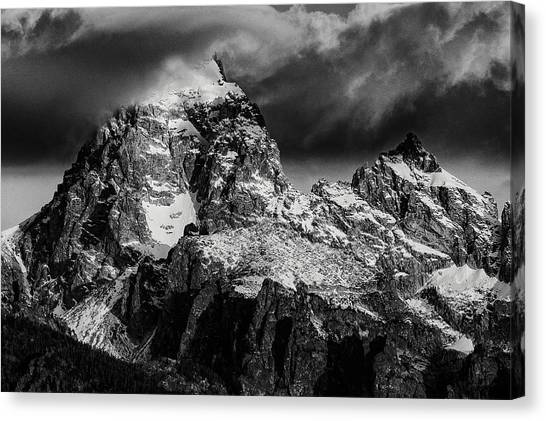 The Grand Teton Canvas Print