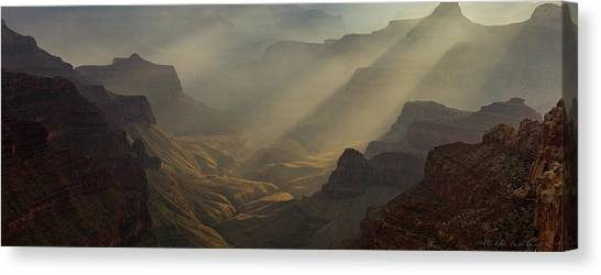 North Rim Canvas Print - The Grandest Of Them All by Bill Cantey